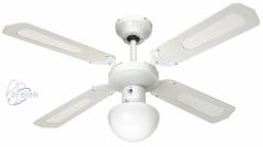 Stropní ventilátor Bali white